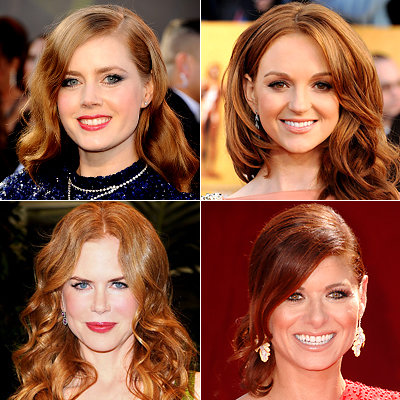 Try on Red Hairstyles