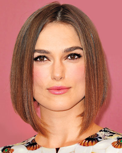 Find Your Perfect Haircut - Keira Knightley