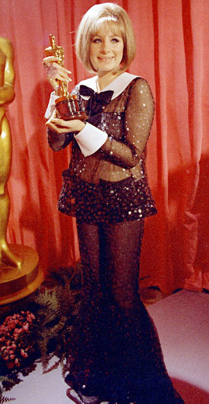 Barbra Streisand - Most Outrageous Oscars Looks - Scaasi