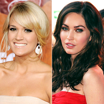 Megan Fox - Carrie Underwood