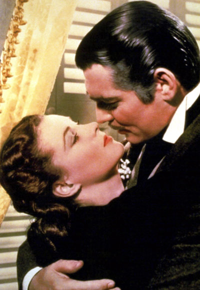 Iconic Kisses - Gone with the Wind - Scarlett O'Hara