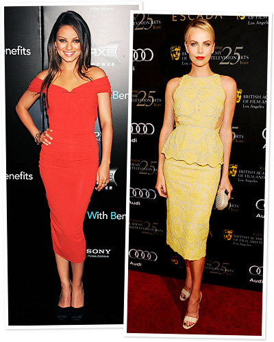 Sexy Spring Trends - Mila Kunis - Charlize Theron