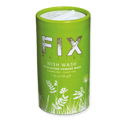 Fix Malibu Wish Wash Exfoliating Powder - Exfoliate from Head to Toe - Skincare