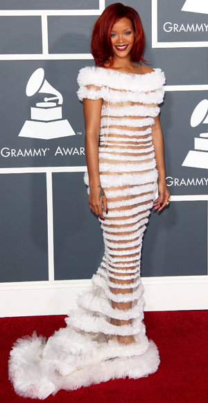 From 1995 to Now: The Riskiest Grammy Gowns | InStyle.com