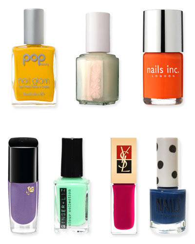Color Package - Facebook Poll - What's Your Favorite New Nail Color for Spring?