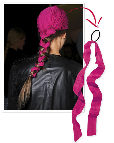 Hot Diy Hair Accessories Instyle Com