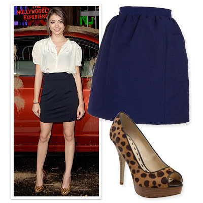 Skirt And Shoe Combos For Mile Long Legs Instyle Com
