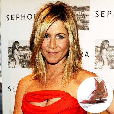 Jennifer Aniston - Celebrity Tattoos
