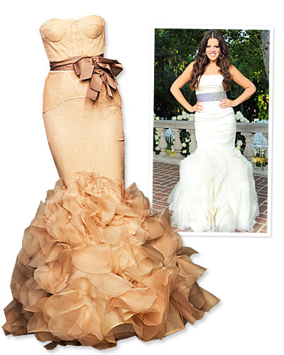 Khloe Kardashian Wedding Dress: Kim Kardashian's Wedding Style Predictions