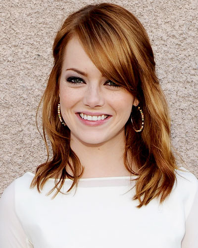 Emma Stone - The 9 Hottest Hair Colors for Fall 2011 - Dimensional Red