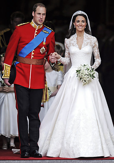 Kate Middleton and Prince William - Royal Wedding - Style Moments of 2011