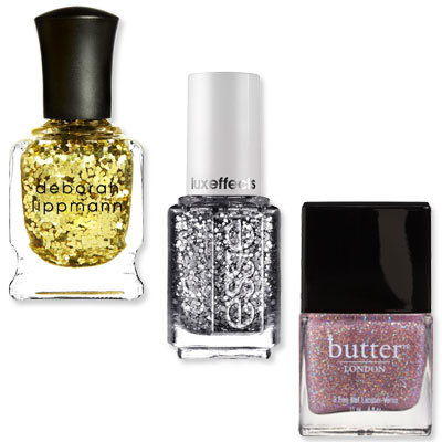 Try Glitter - Glitzy Ways to Dress Up Your Nails - Nail Art