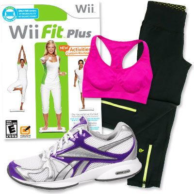 celeb fitness gear