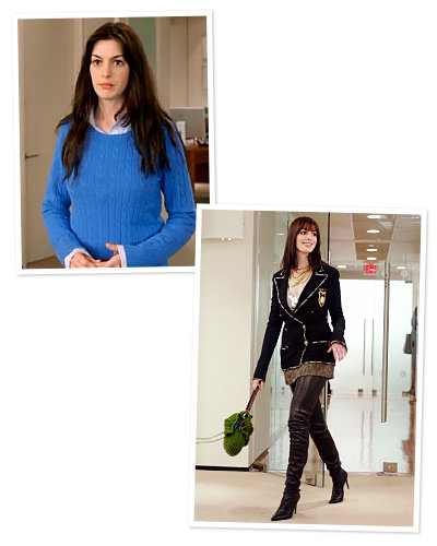 The Devil Wears Prada - Anne Hathaway - Best Movie Makeovers