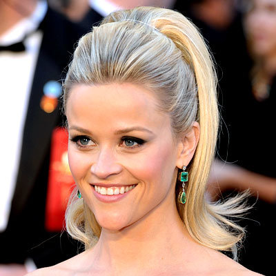 Reese Witherspoon - Oscars 2011- Hair