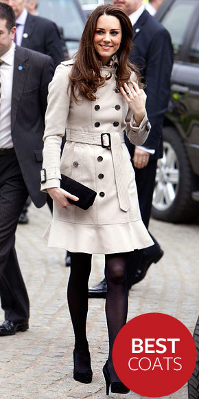 Catherine Middleton in Burberry