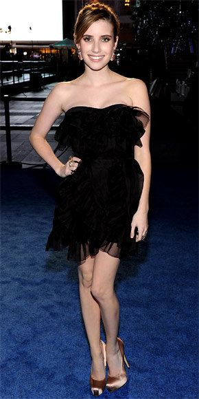 Emma Roberts in Christian Dior