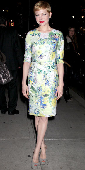 Michelle Williams in Erdem