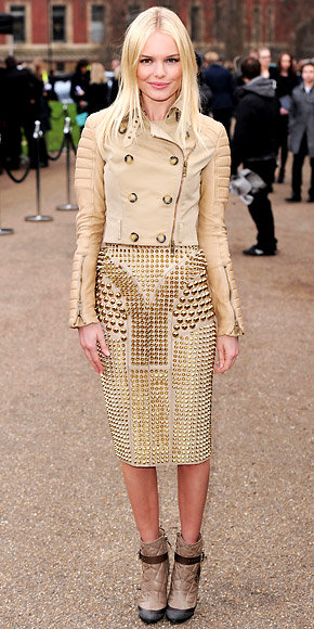 Kate Bosworth in Burberry Prorsum