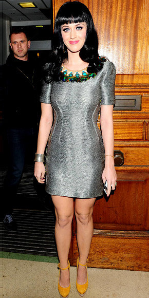 Katy Perry in Matthew Williamson
