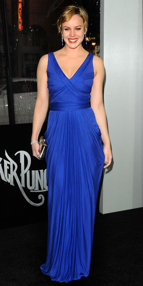 Abbie Cornish in Amanda Wakeley