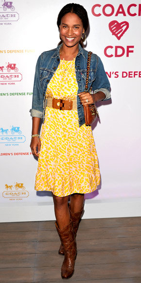 Joy Bryant in Tucker by Gaby Basora