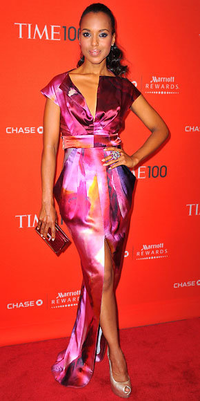 Kerry Washington in Malandrino