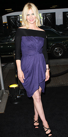 January Jones in Preen