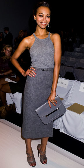 Zoe Saldana in Michael Kors