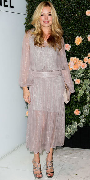 Cat Deeley in Chanel