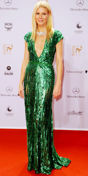 Gwyneth Paltrow in Elie Saab