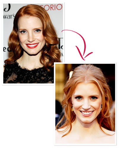 Jessica Chastain - Should You Update Your Hair Color? - Celebrity Hair
