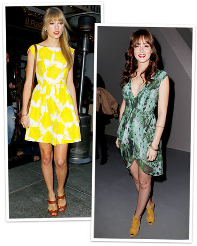 Sundresses for Every Shape - Taylor Swift - Leighton Meester