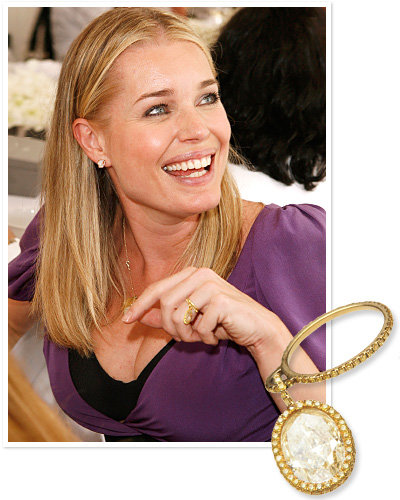 Wedding rings celebrity style and fashion