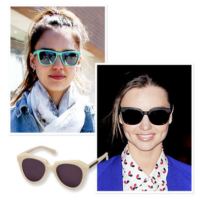 Jessica Alba - Miranda Kerr - Karen Walker - Shop Star Sunglasses