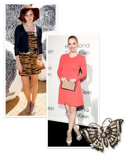 Emma Watson - Jessica Chastain - Summer Accessories - Summer Occasions