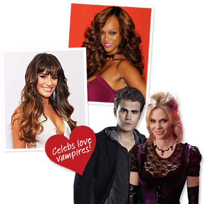 Celebrities' favorite vampires