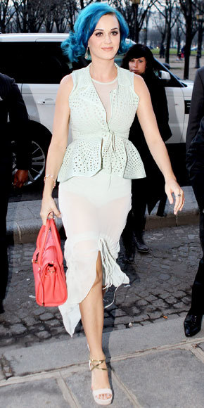 Katy Perry in Vera Wang