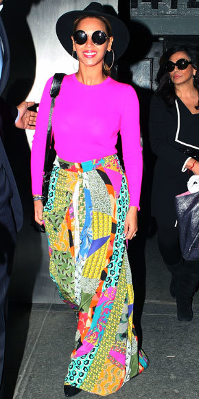 Beyonce in Etro