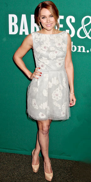 Lauren Conrad in Lela Rose