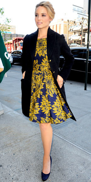 Dianna Agron in Alice + Olivia