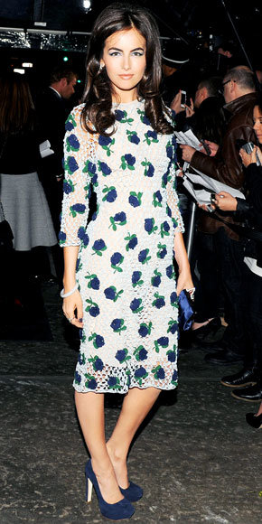 Camilla Belle in Prada