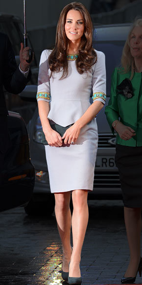 Catherine Middleton in Matthew Williamson