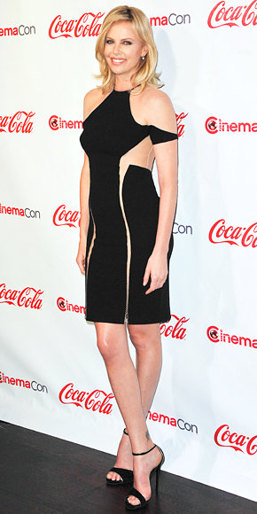 Charlize Theron in Dion Lee