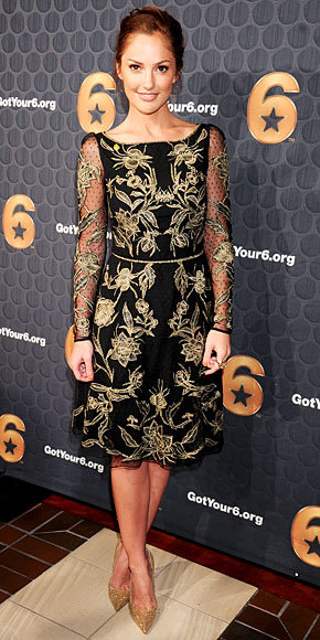 Minka Kelly in Temperley London