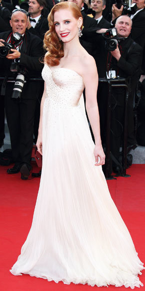 Jessica Chastain in Chopard