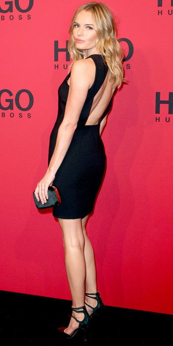 Kate Bosworth in Hugo Boss