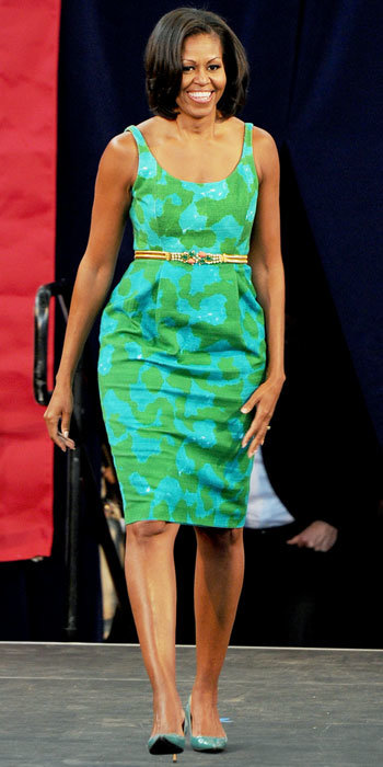 Michelle Obama in Chris Benz