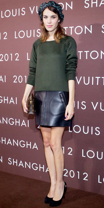 Alexa Chung in Louis Vuitton