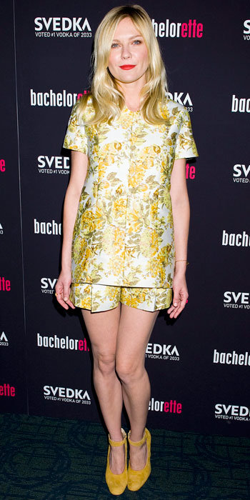 Kirsten Dunst in Stella McCartney